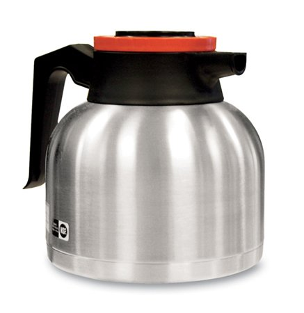 Bunn 40163.0001 Stainless Steel Thermal Decaf Carafe - 64 Ounce