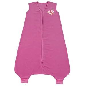 HALO SleepSack Big Kids Micro-Fleece Wearable Blanket, Fuchisa, 2T- 3T (Discontinued by Manufacturer)