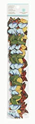 Martha Stewart Crafts Die-Cut Adhesive Borders, Butterfly