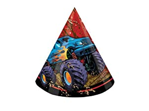 Creative Converting Mudslinger Birthday Party Hats, 8 Count from Creative Converting
