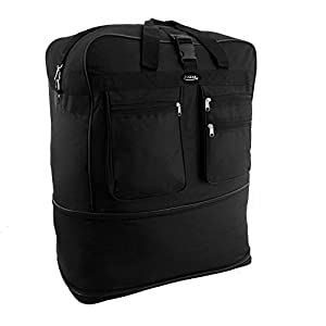 Extra Large 36 Inch Wheeled Cargo Folding Holdall Travel Duffle Bag - 140 Litres Super Lightweight