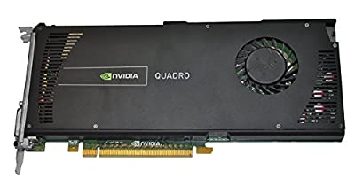 HP NVIDIA Quadro 4000 2GB GDDR5 PCI Express 2.0 x16 Graphics Card