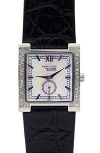 Anne Klein New York 12-1811wmbk Diamond Ladies Watch