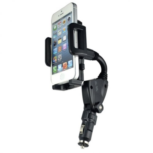 Selna Universal Car Mount Lighter Socket Charger Plug in Holder Dock Dual Charging USB Ports for iPhone 5S 5C 5 4S 4, Samsung Galaxy S5 S4 S3 S2 S3 / S4 Mini - Galaxy Note 3 2 1 - Galaxy Mega - LG G2 G3 - LG G Flex - HTC ONE M8 - All Nokia Lumia - Sony Xperia Z1 Z2 Z1s - Motorola Moto G X - Droid RAZR / MAXX / HD (Iphone 5 S Case One Direction compare prices)