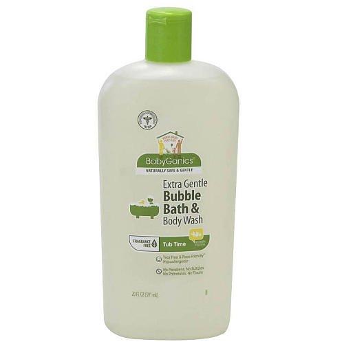 BabyGanics Fragrance Free Bubble Bath 20 Ounce