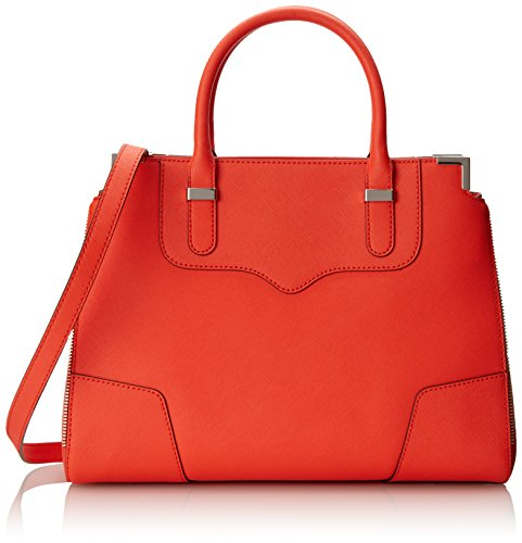 Rebecca Minkoff Amorous Satchel Handbag, Hot Orange, One Size