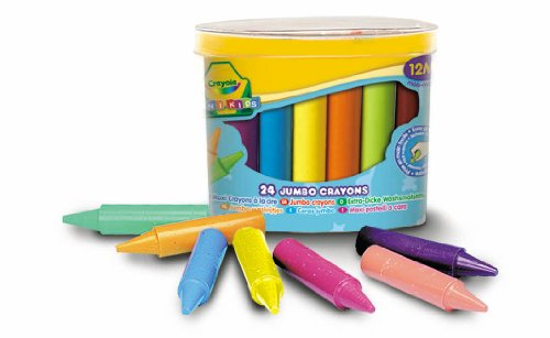 gadget geek - crayola loisir creatif maxi crayons cire bo&icirc;te plastique