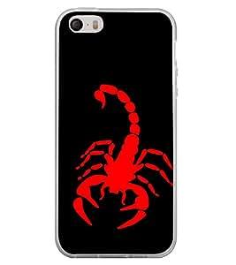 Scorpion 2D Hard Polycarbonate Designer Back Case Cover for Apple iPhone 4