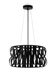 Wave Drum Ceiling Pendant