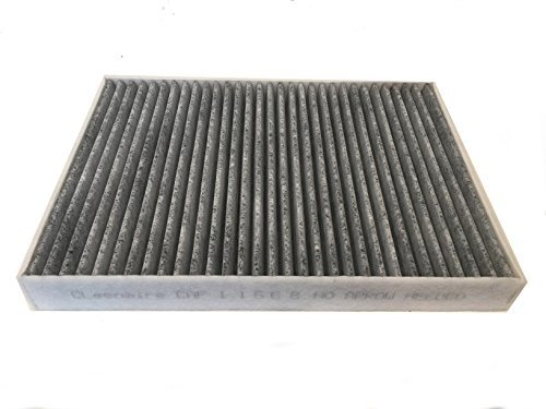 Cleenaire CAF11668 The Most Advanced Protection Against Bacteria Dust Viruses Allergens Gas Odors, Double Carbon Cabin Filter For 11-16 Dodge Charger, Challenger, 300