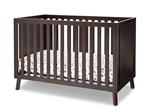Delta Children Manhattan 3-in-1 Crib, Dark Chocolate