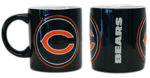 Chicago Bears Coffee Mug - 14Oz Sculpted Warm Up