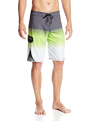 Billabong Men's Occy Phaser Boardshorts, Neo Lime, 38