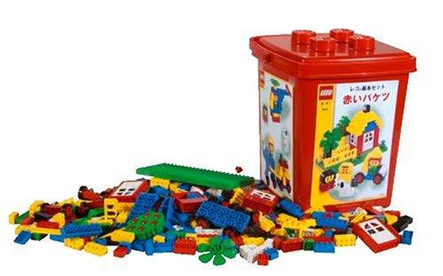 レゴ 基本セット 赤いバケツ 4244