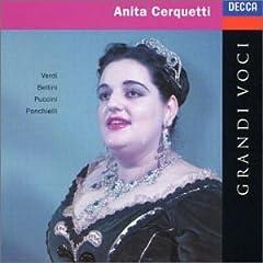 Anita Cerquetti: Grandi Voci, Operatic Arias