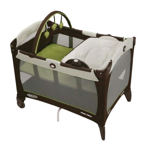 Graco Pack 'n Play Playard with Reversible Napper and Changer, Go Green (Pack N Play Travel compare prices)