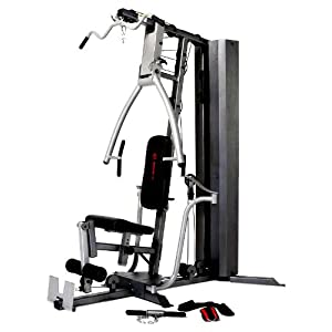 All in one home gym marcy diamond 200 pound stack home gym for Home designs by marcy