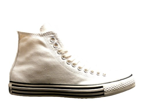 Converse All Star Details Hi White