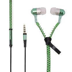 Mobiglam Zipper Green headset