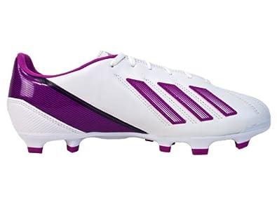 Buy Adidas Ladies F30 TRX FG Soccer Cleats-Run White Vivid Pink Sky by adidas