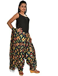 Fashion Store Women Cotton Printed And Plian Multi-Coloured Patiala Salwar With Dupatta Combo Of Assorted Color... - B072F34YP8