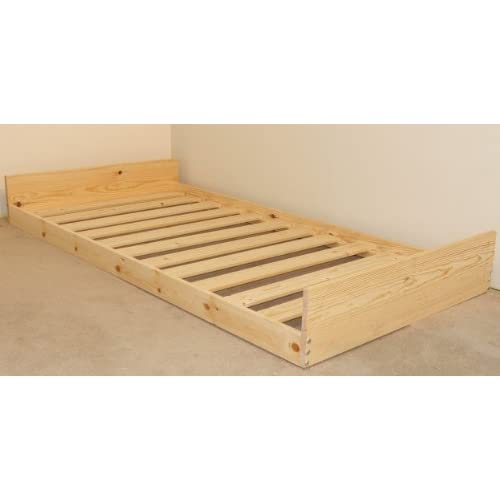 Trundle GUEST BED - 3ft single pull out vistors under bed - goes under your main bed