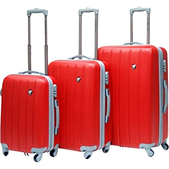Click to buy Hard Sided Luggage: CalPak KLUB 3 Piece Hardside Spinner Setfrom Amazon!
