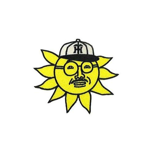 【プロ野球 阪神タイガースグッズ】おっ!サンテレビアイロンワッペン 特大