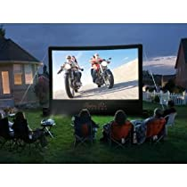 Open air cinema CineBox Home 16 x 9 Backyard Theater System