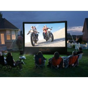 CineBox Home 16 x 9 Backyard Theater System