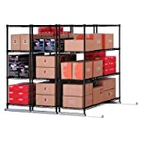 BEF7711302 - Best Black Wire Shelving 48x24x72 - for home, office or school - X5L34824BLK