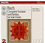 Bach: Complete Sonatas and Partitas for Solo Violin cover image