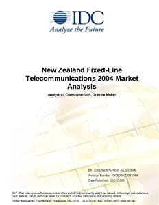 New Zealand Fixed-Line Telecommunications 2004 Market Analysis IDC and Per Andersen
