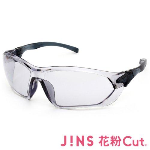 【JINS 花粉Cut(R)】花粉最大98%カット! 異物からスタイリッシュに眼を守るサングラス(度なし)GRAY
