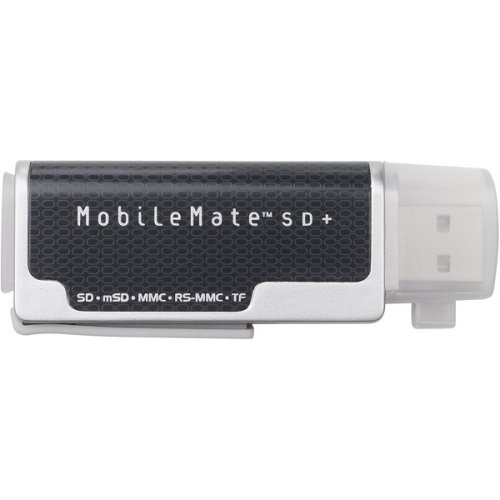 Memory card formats supported by the MobileMate SD Reader (SDDR)