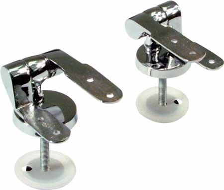 Toilet seat hinge  Chrome-plated