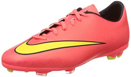 Nike JR Mercurial Victory V FG Scarpe sportive, Ragazzo, Multicolore (HYPR Punch/MTLC GLD CN-BLK-VLT), 37.5