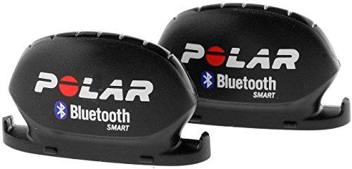 Polar 91047327 Bluetooth Smart Sensori di Cadenza, Nero, 2 Pezzi