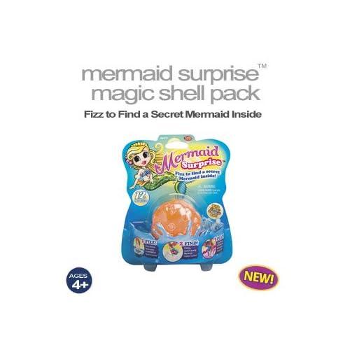 Amazon.com: Fizz n Find Mermaid Surprise Magic Shell