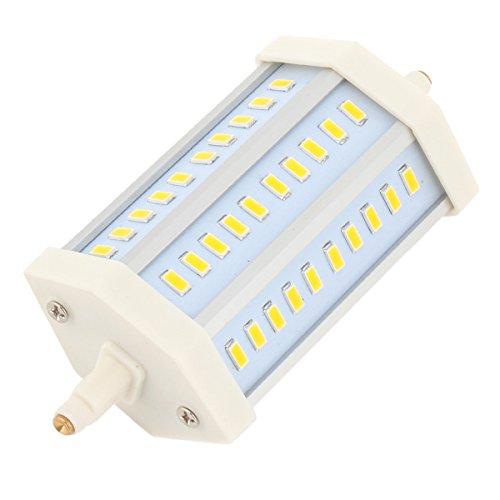 Long Lifespan 85-265V R7S 12W Smd 30 Led Bulb Lamp Warm White Light