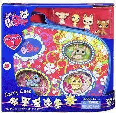 "Buy Low Price Hasbro Littlest Pet Shop Carry Case with 7 ""Happiest"" Pets! Figure (B002UWHGCQ)"