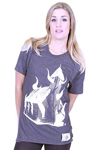 BKB -  Magliette a maniche corte  - Donna grigio scuro Large