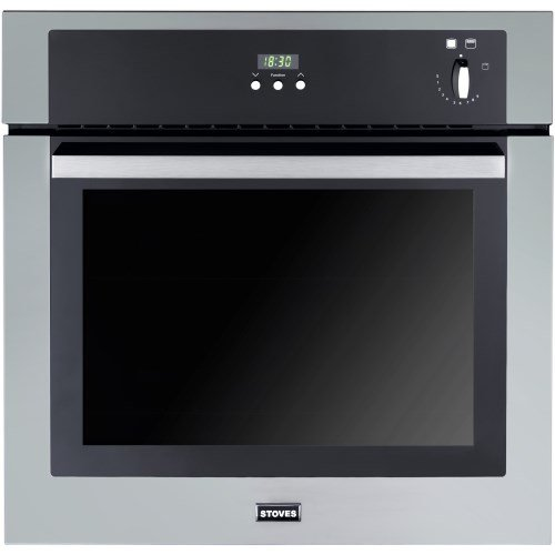 Stoves SGB600PS Conventional Gas Built In Single Oven in Stainless Steel