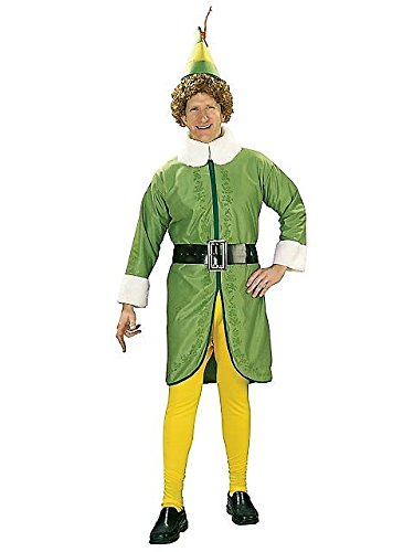 Rubies Costume Co R16894-XL Adult Buddy the Elf Costume Size X-Large