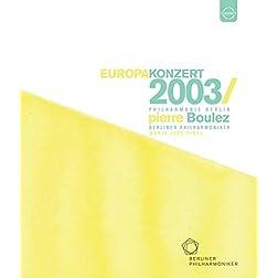 Europakonzert 2003 [Blu-ray]
