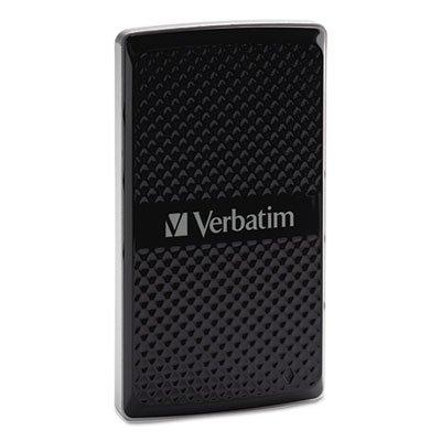 Store 'n Go External SSD Drive, 256GB, USB 3.0 by VERBATIM CORPORATION