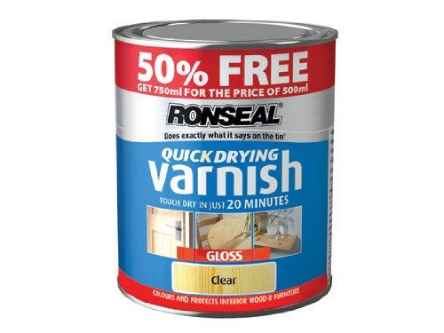 ronseal-qdvgcl5av-quick-drying-varnish-clear-gloss-500ml-50