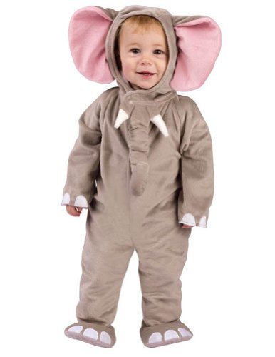 Cuddly Elephant Toddler Costume 12-24M - Toddler Halloween Costume