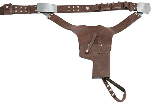 Jedi-Robe Men's Star Wars Han Solo Belt And Holster