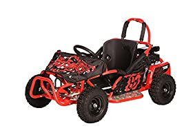 Monster Moto MM-K80R 79.5cc Go Kart - Red